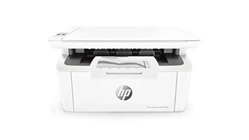 HP LaserJet Pro M28w Multifunktionsgerät Laserdrucker (Schwarzweiß Drucker, Scanner, Kopierer, WLAN, Airprint) weiß